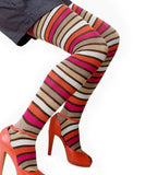 Multi Stripe Tights - MeMoi