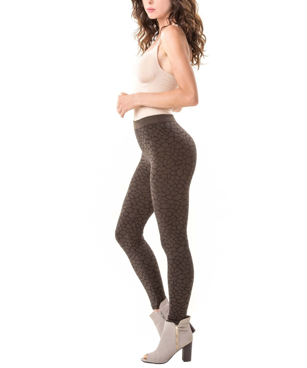 Snakeskin Leggings - MeMoi - 2