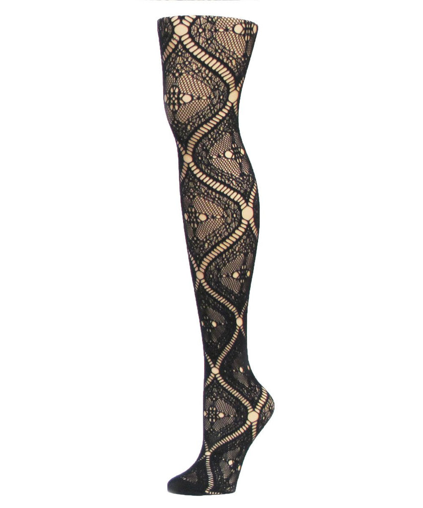 Artistic Edge Net Tights - MeMoi