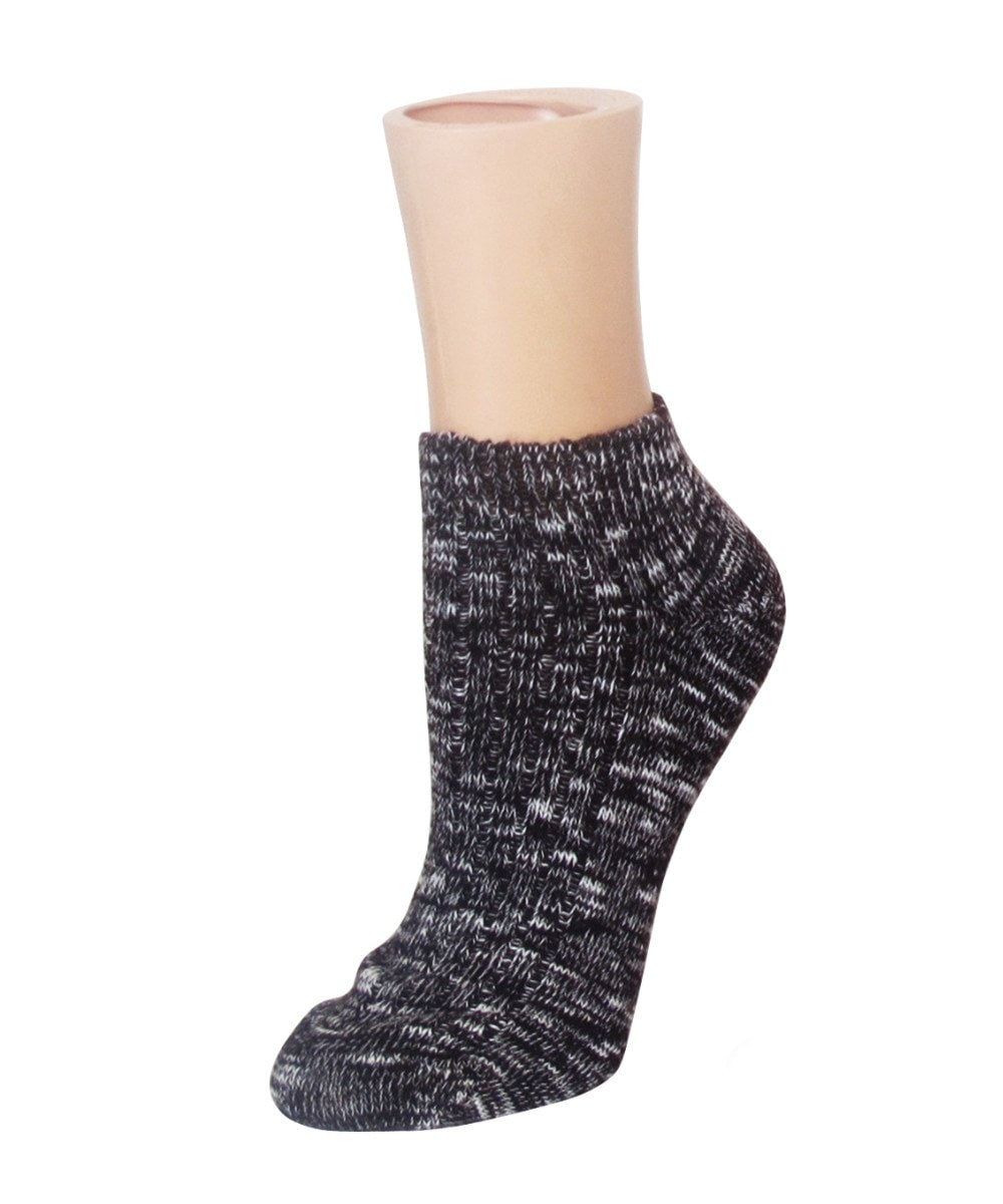 Rib Space Low Cut Running Super-Fit Cotton Socks - MeMoi - 3
