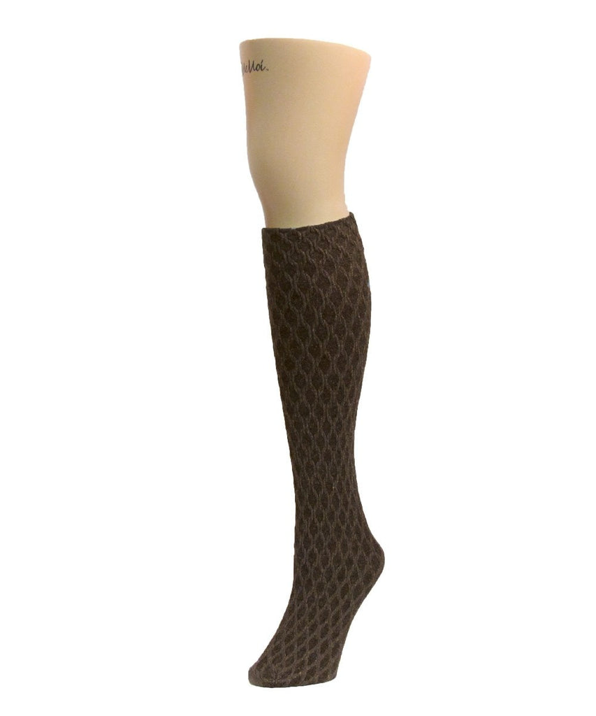 Exotic Diamond Opaque Knee High - MeMoi - 3