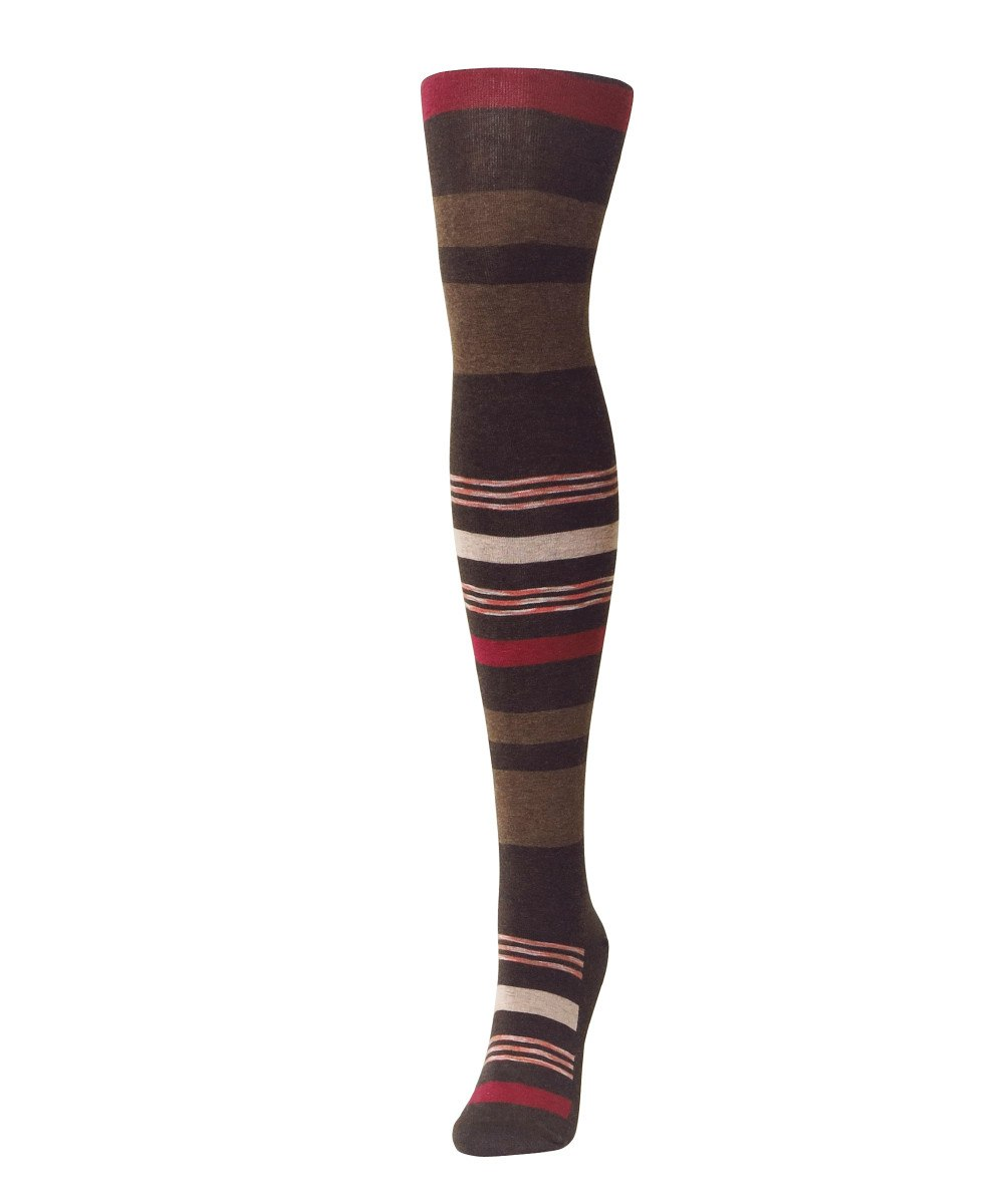 Stripe Palette Sweater Tights - MeMoi - 2