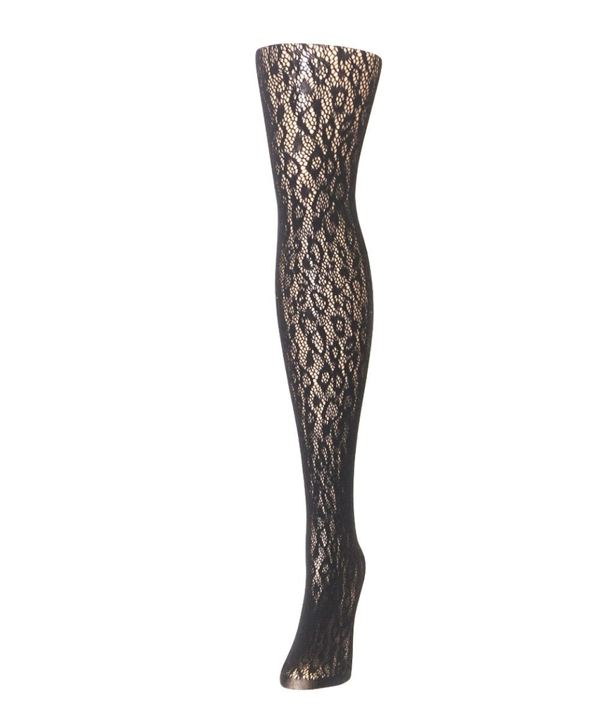 Cheetah Net Tights - MeMoi
