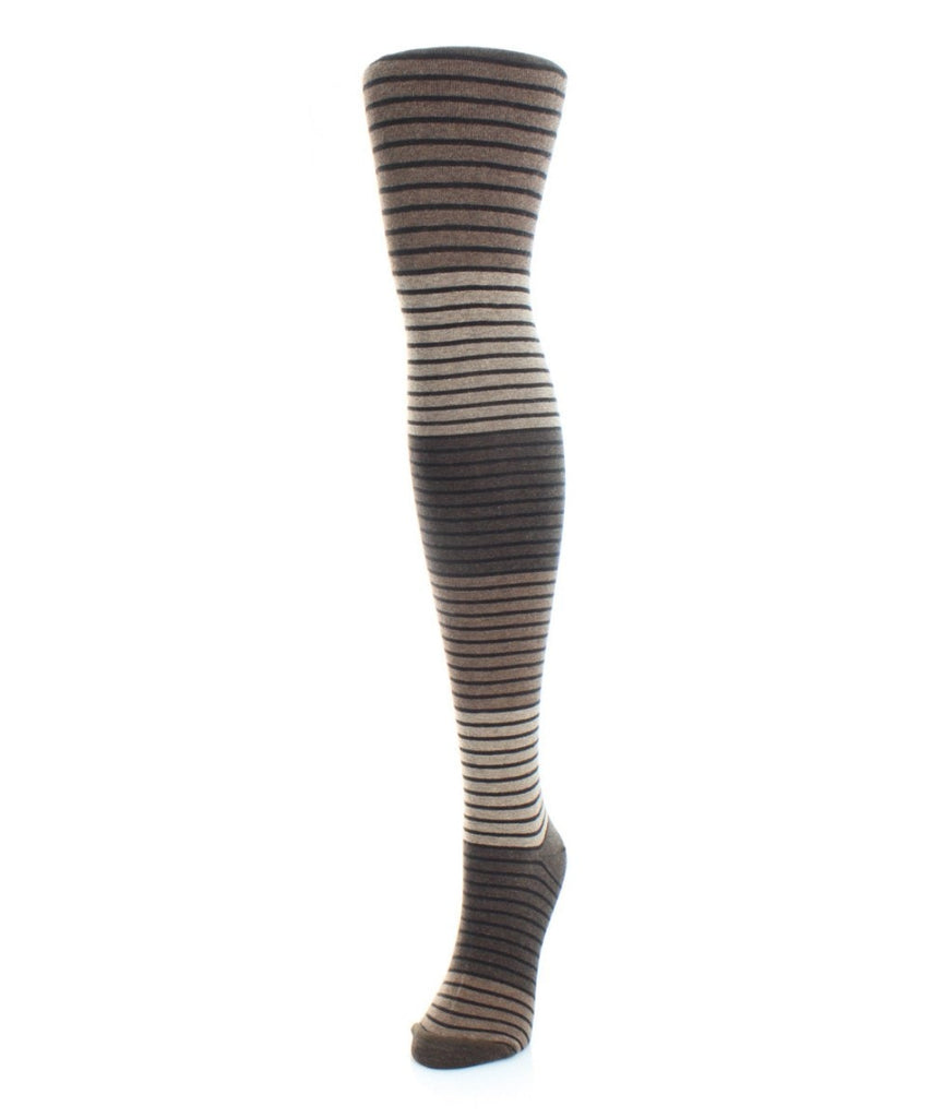 Gradient Stripes Sweater - Tights - MeMoi - 2