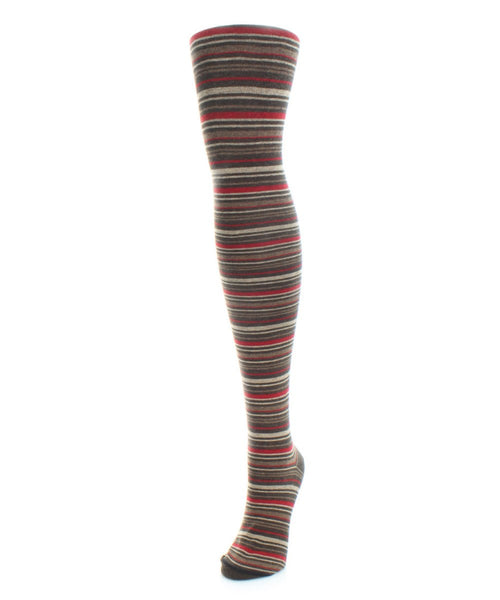 Stripesation Sweater Tights - MeMoi - 2