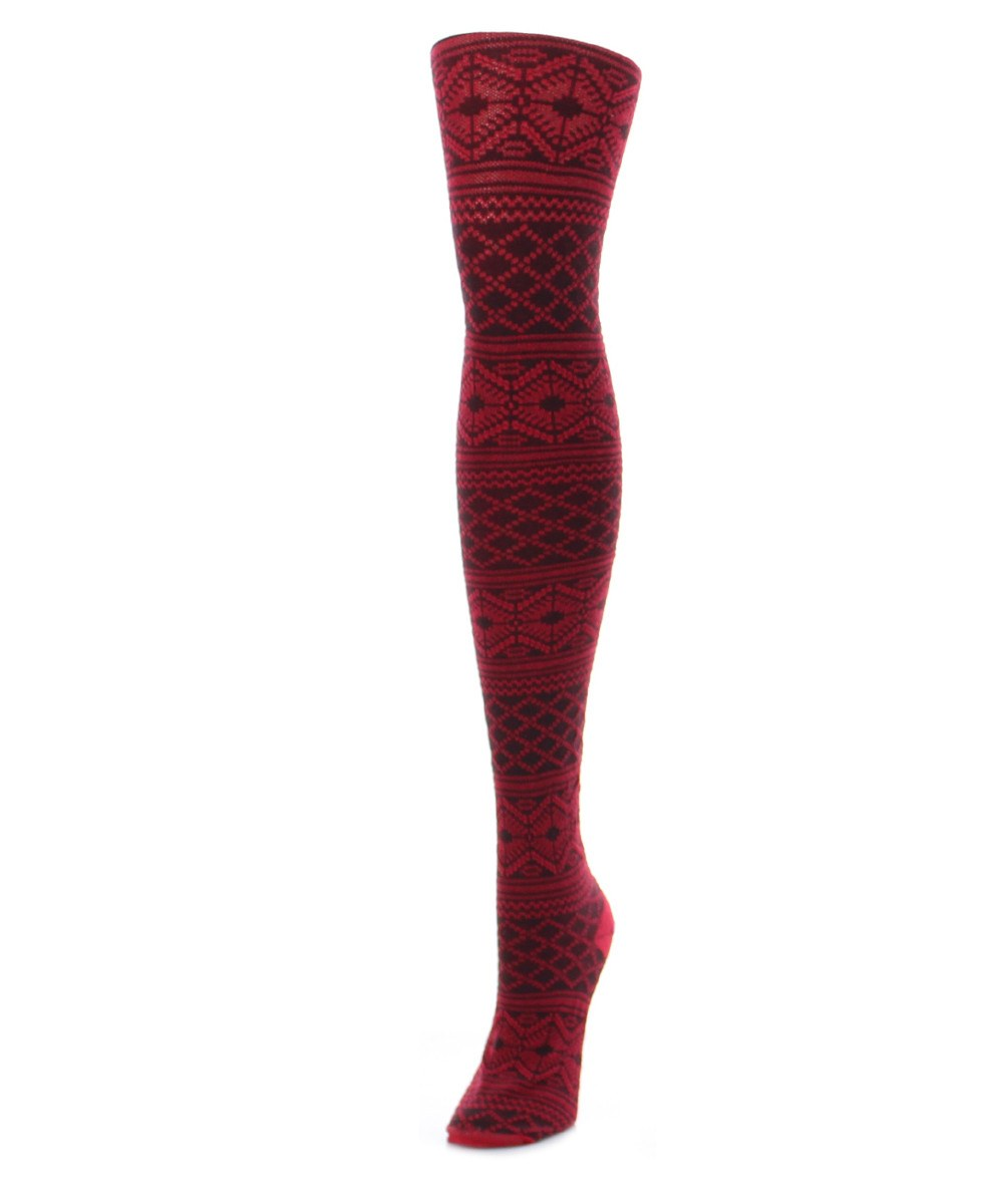 Traditional Lifestyle Sweater Tights - MeMoi - 1