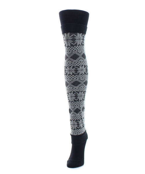 Flake Zone Sweater Tights/Legwarmer - MeMoi - 2