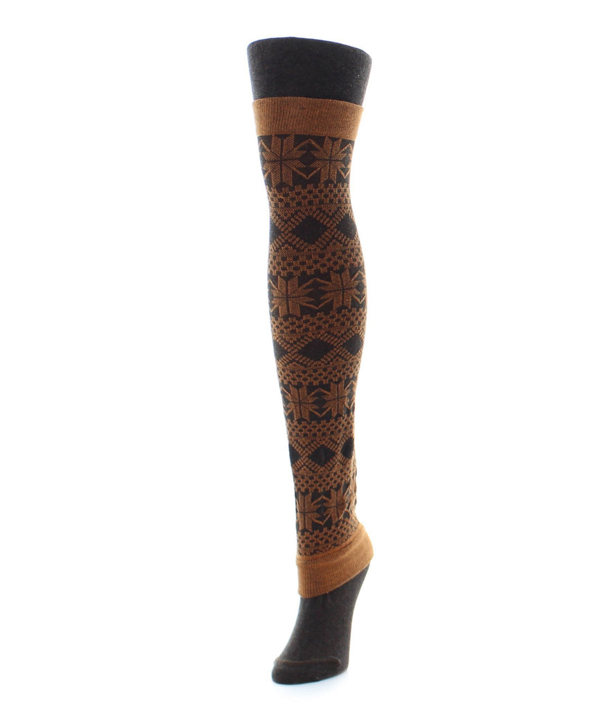 Flake Zone Sweater Tights/Legwarmer - MeMoi - 1