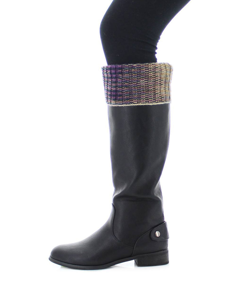 MeMoi Zag Dye Boot Topper