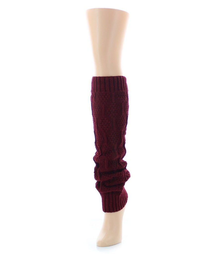 Connected Diamonds Legwarmer - MeMoi - 3