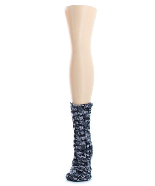 Color Bunch Chunky Knit Boot Sock - MeMoi - 1