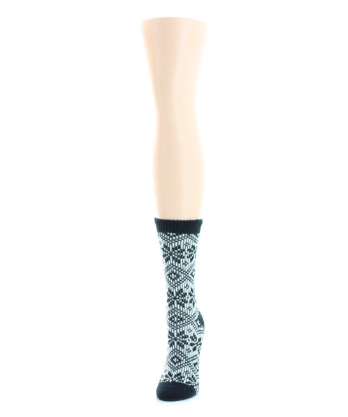 Wonder Snowflake Holiday Boot Sock - MeMoi - 2