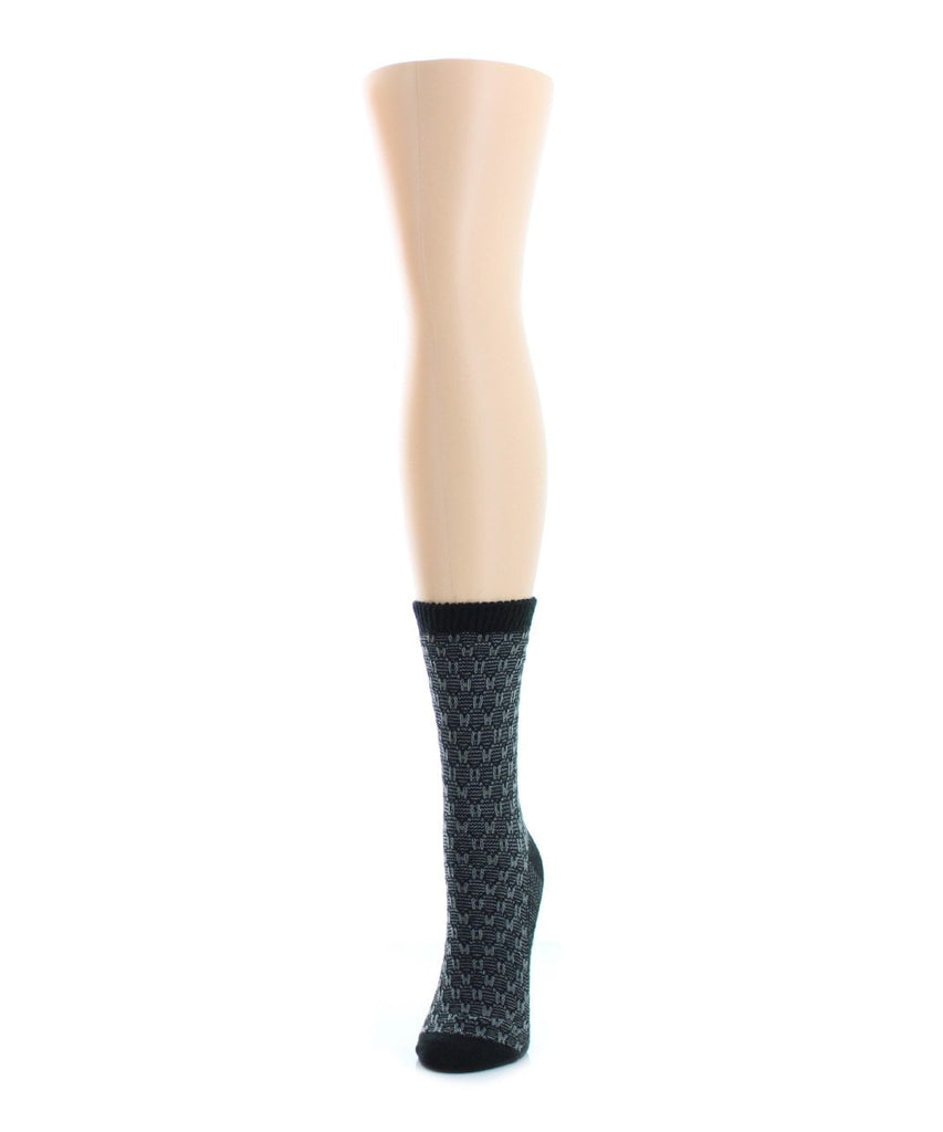Suited Thread Boot Sock - MeMoi - 1