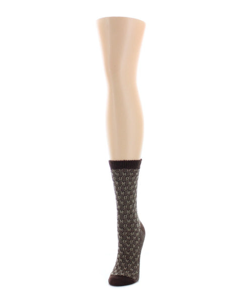Suited Thread Boot Sock - MeMoi - 2