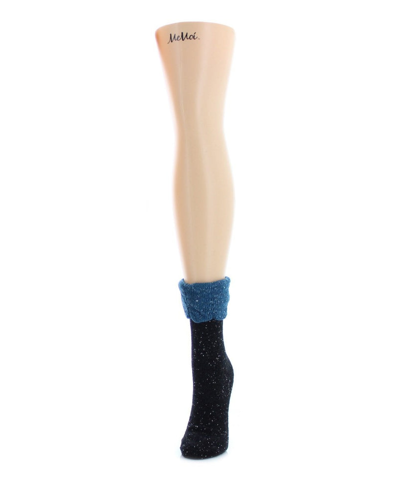 Scalloped Fold Boot Sock - MeMoi - 1