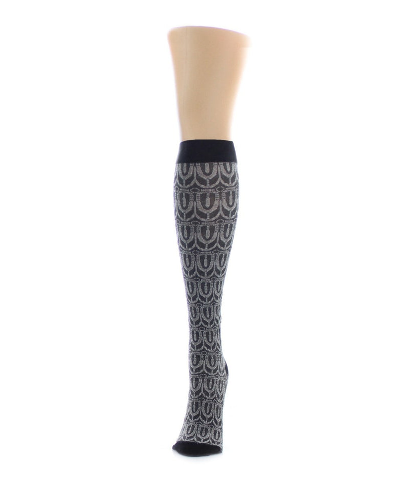 MeMoi Tri Dome Knee High Sock
