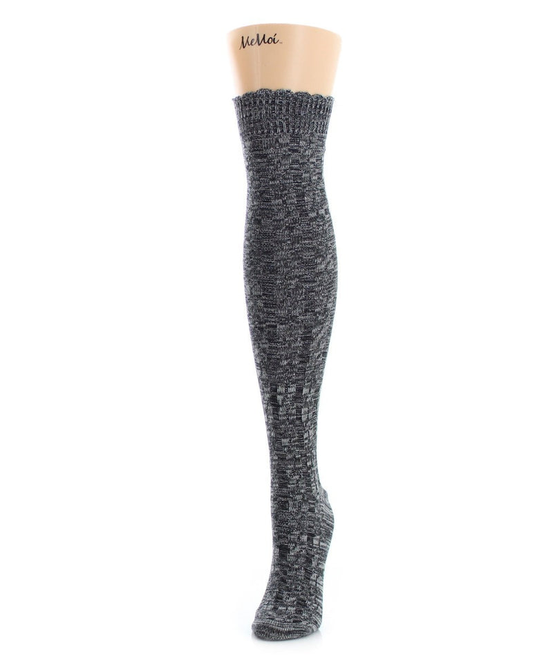 MeMoi Chunkron Over The Knee Sock