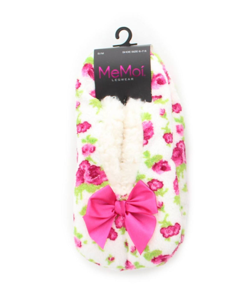 Flower Fluff Sherpa Lined Slippers - MeMoi - 4