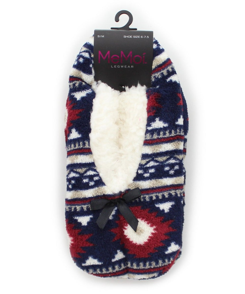 Diamond Edge Sherpa Lined Slipper - MeMoi - 4