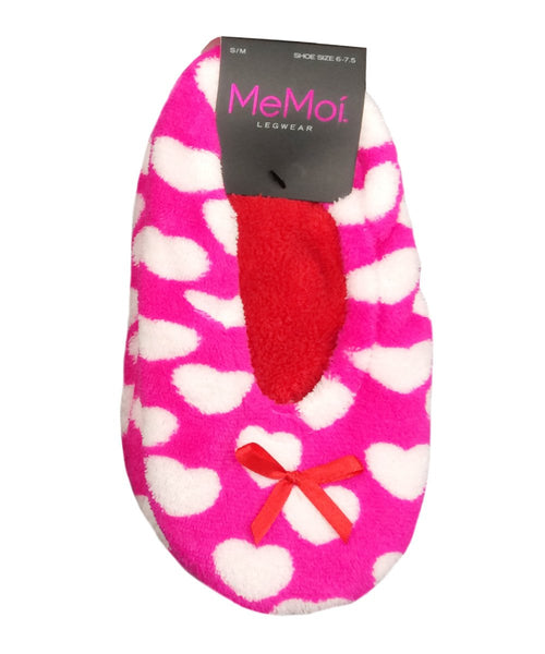 Heartfelt Sherpa Lined Slipper - MeMoi - 1