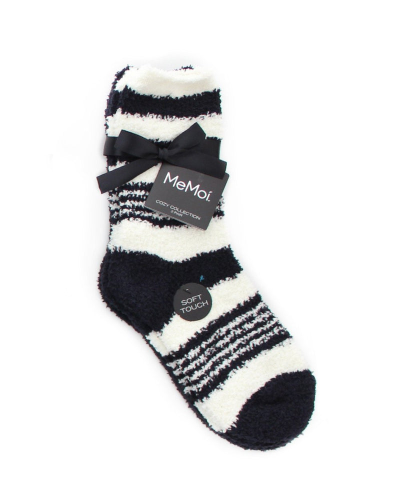 RibbonStripe Cozy Collection 2 Pair Pack - MeMoi - 2