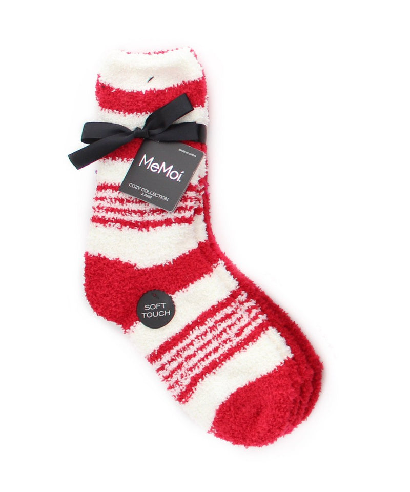 RibbonStripe Cozy Collection 2 Pair Pack - MeMoi - 6