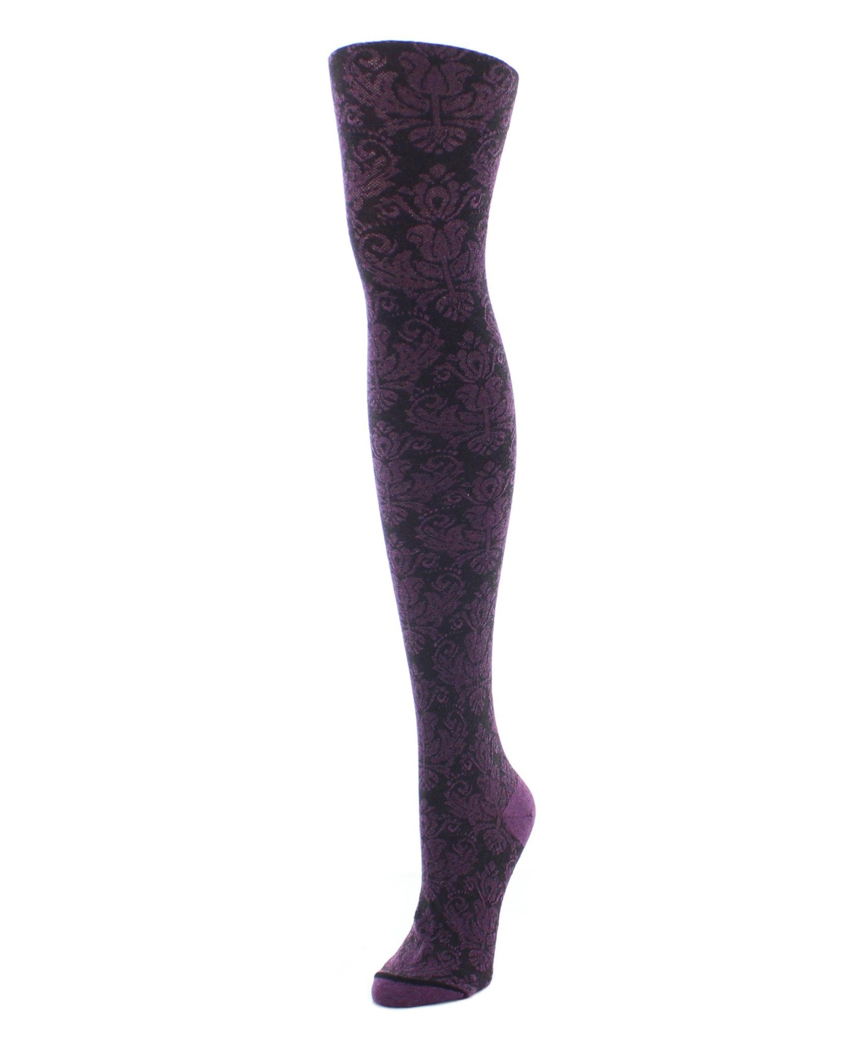 Sweater Tights | Patterned Tights | Baroque Patterned