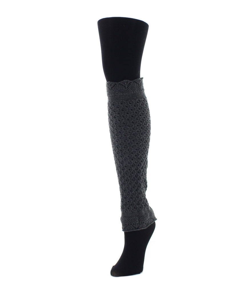 Interwoven Scalloped Classic Leg Warmer - MeMoi - 4