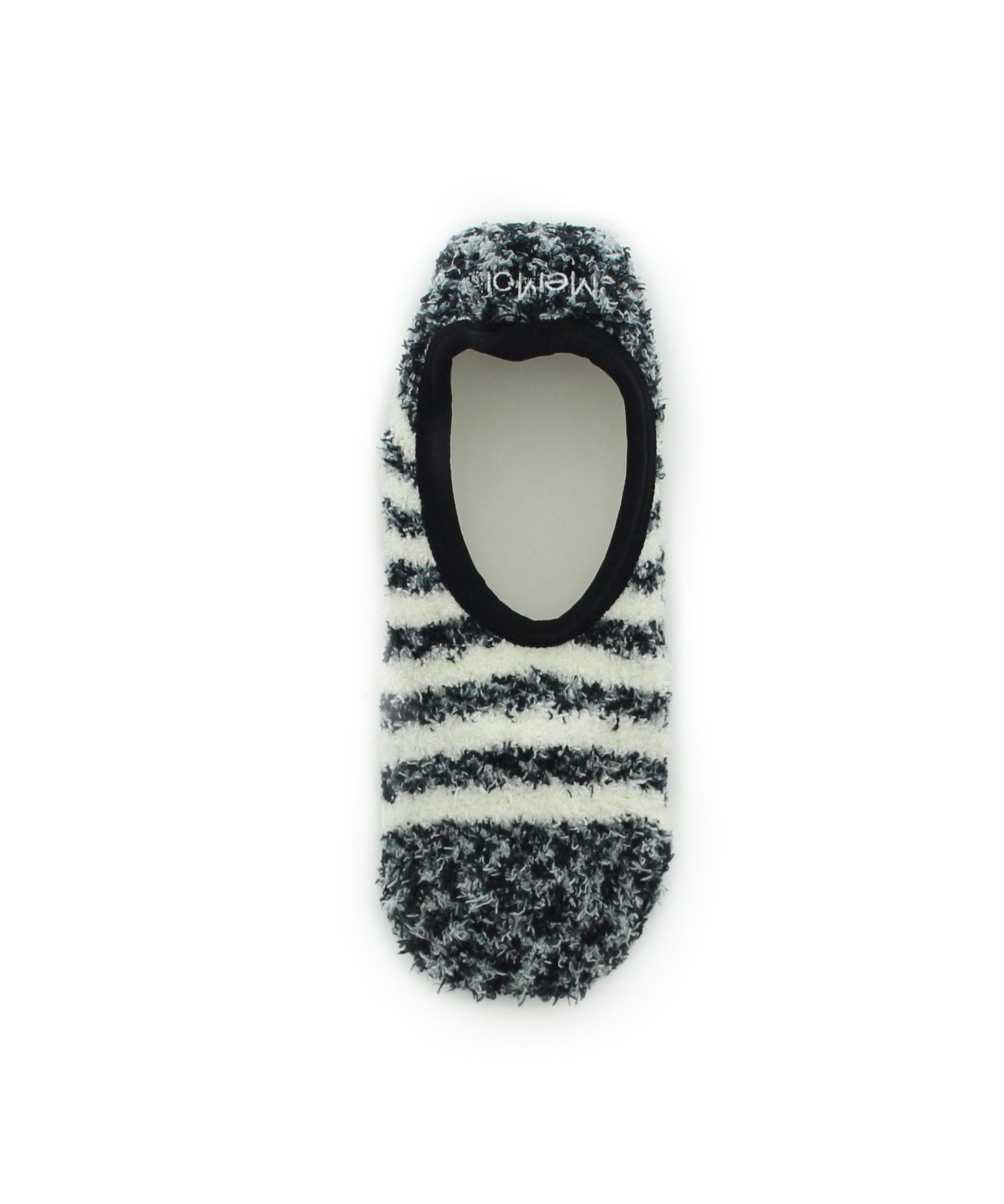 Rugby Striped Warm & Cozy Bootie Slipper - MeMoi - 1