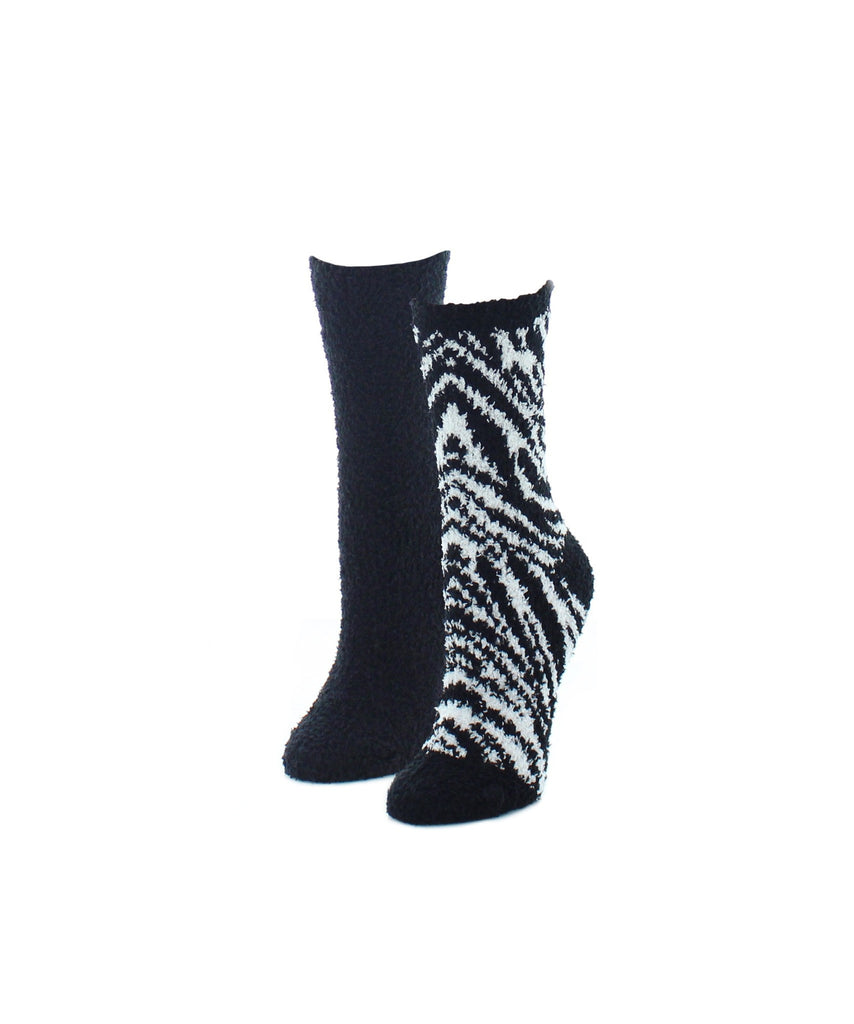 Zebra Print Fuzzy Collection Varity Pack - MeMoi - 1
