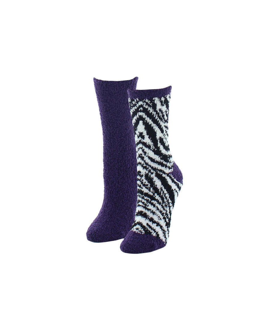 Zebra Print Fuzzy Collection Varity Pack - MeMoi - 2