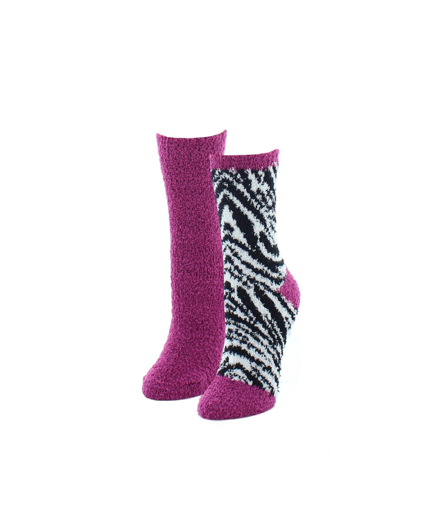 Zebra Print Fuzzy Collection Varity Pack - MeMoi - 3