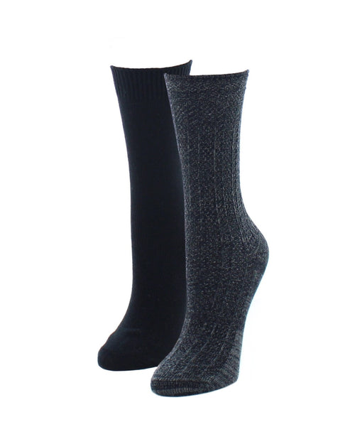 Boot Socks | Fuzzy Socks | Speckled Variety Pack - MeMoi - 1