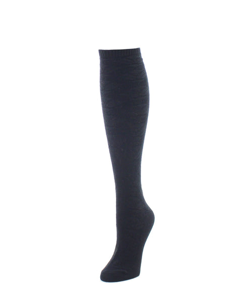 Knee High Socks | Women's Socks | Flower Lined - MeMoi - 1