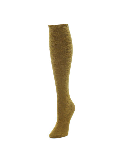 Knee High Socks | Women's Socks | Flower Lined - MeMoi - 2