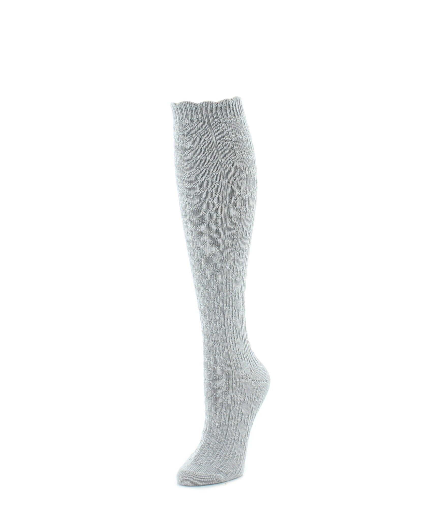 Knee High Socks | Women's Socks | Diamond Ridged - MeMoi - 3