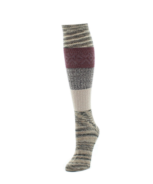 Knee High Socks | Women's Socks | Marled Combo Pattern - MeMoi - 2