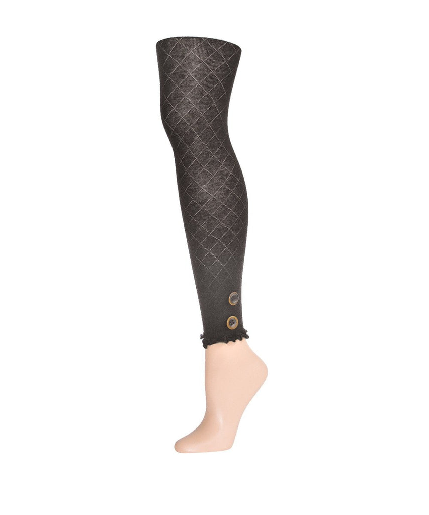 Miss Buttons Sweater Footless Tights - MeMoi - 3