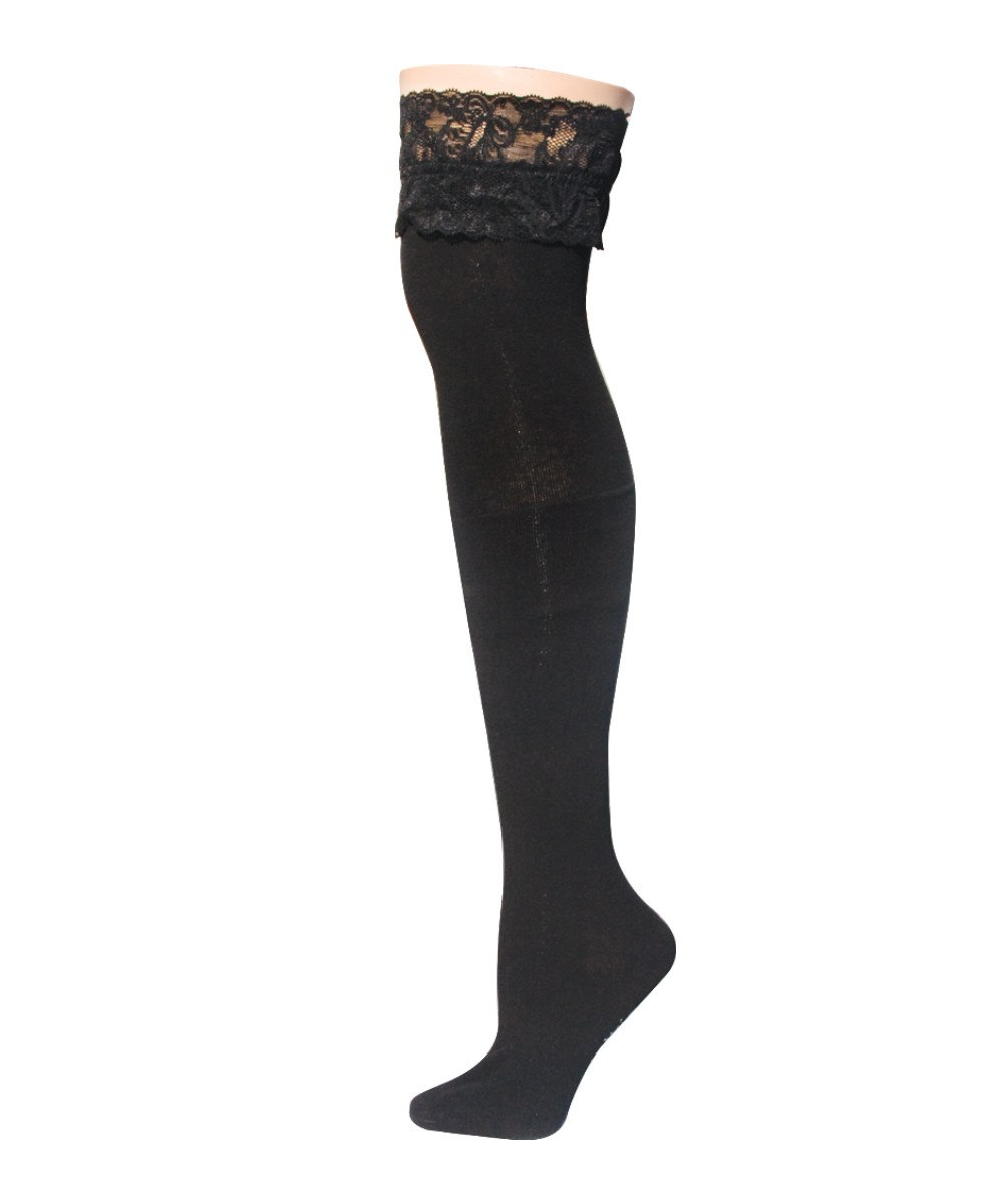 French Lace Thigh High - MeMoi - 2