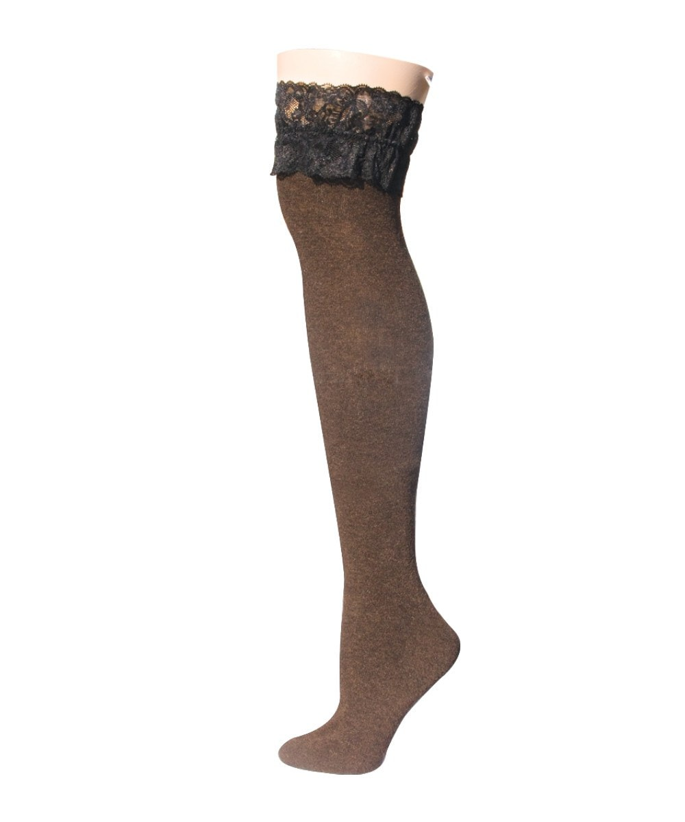 French Lace Thigh High - MeMoi - 3