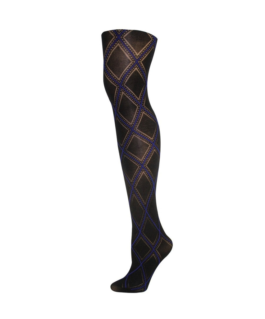Feminine Diamond Fashion Tights - MeMoi - 2