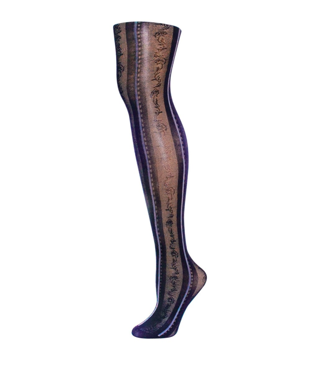 Linear Fashion Tights - MeMoi - 2