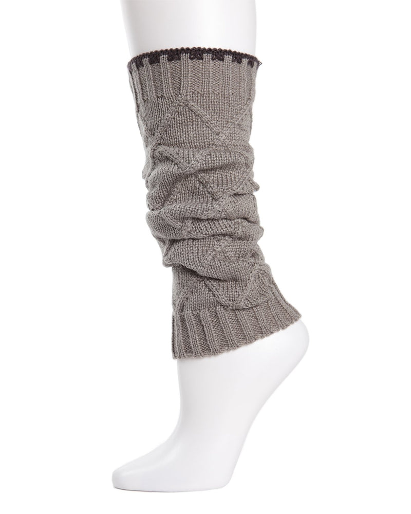 Criss-cross Girls Legwarmers