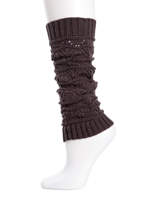 Triangle Scallop Girls Legwarmers