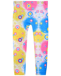 MeMoi Funky Retro Seamless Girls Leggings