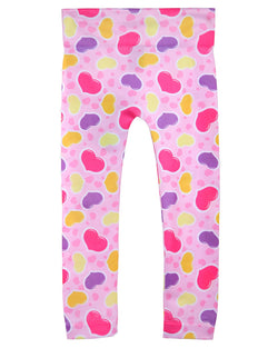 Girls Bubble Love Leggings