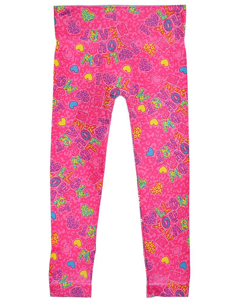 Follow Your Heart Girls Leggings