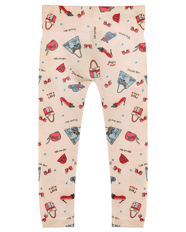 Shopaholic Girls Leggings
