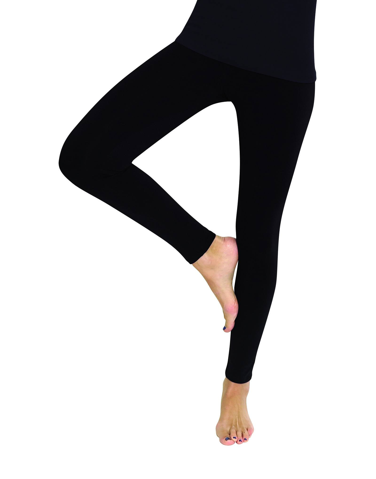 Premium Fleece Footless Tights - Assorted Colors - MeMoi - 3