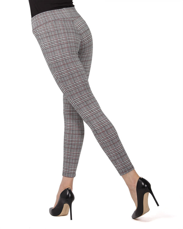 Glen Plaid Shaping Leggings